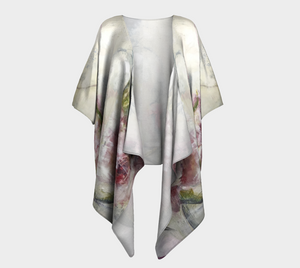 She Stands Strong Draped Kimono
