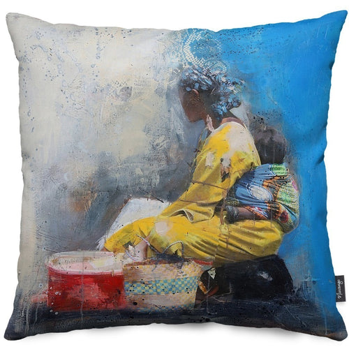 Calexico Throw Pillow
