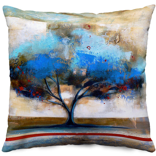 Rooted In Earth Throw Pillow