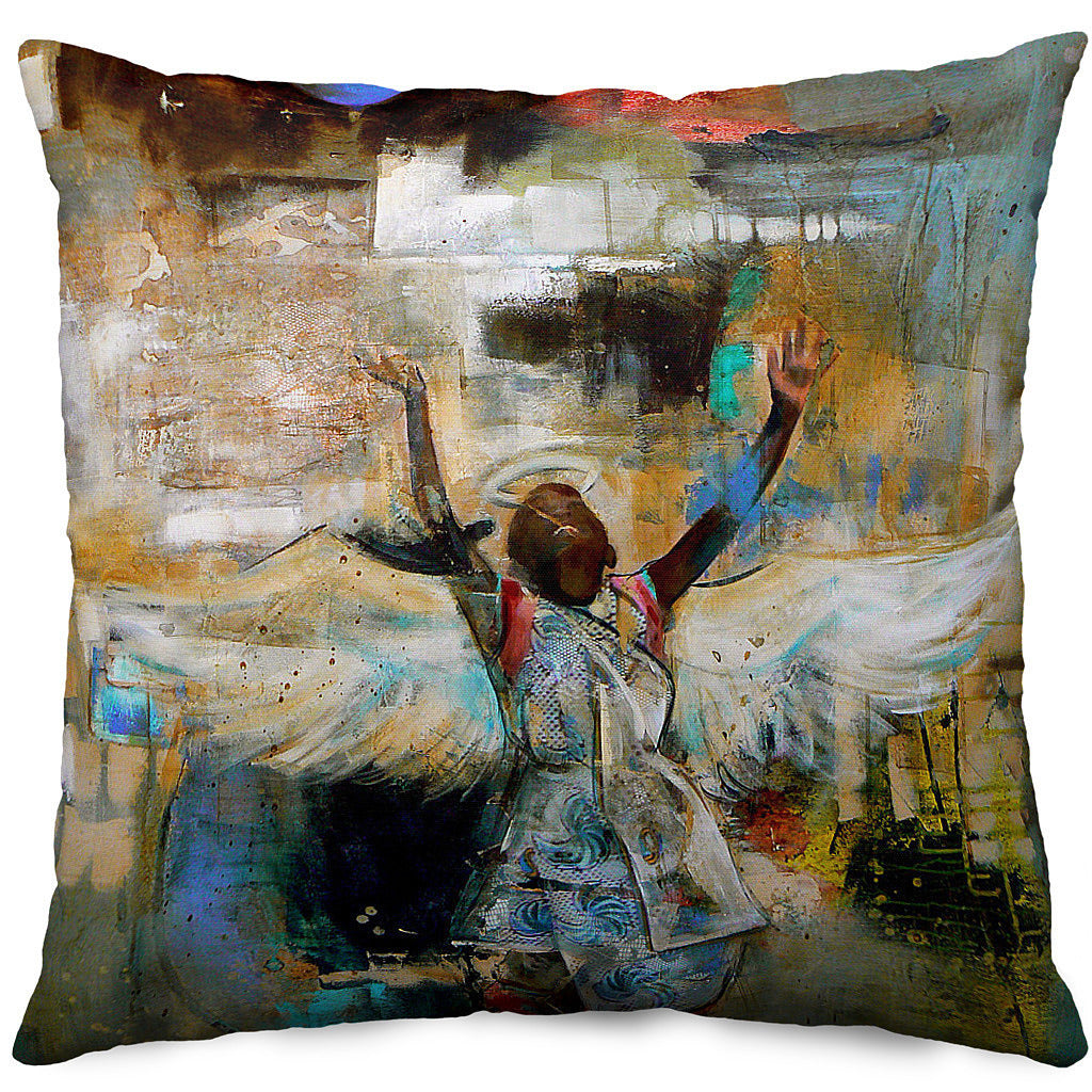 Taking Flight Throw Pillow Cover
