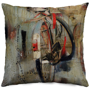 Bike Throw Pillow