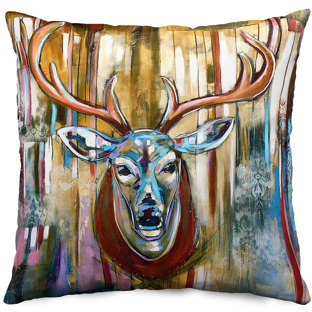 Oh Deer! Throw Pillow Cover