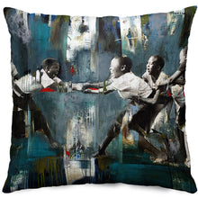 Load image into Gallery viewer, The Tug of War Throw Pillow Cover