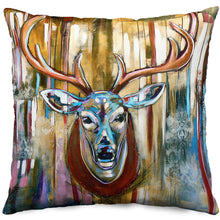 Load image into Gallery viewer, Oh Deer! Throw Pillow