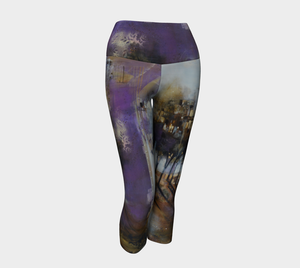 Purple Haze Yoga Capris