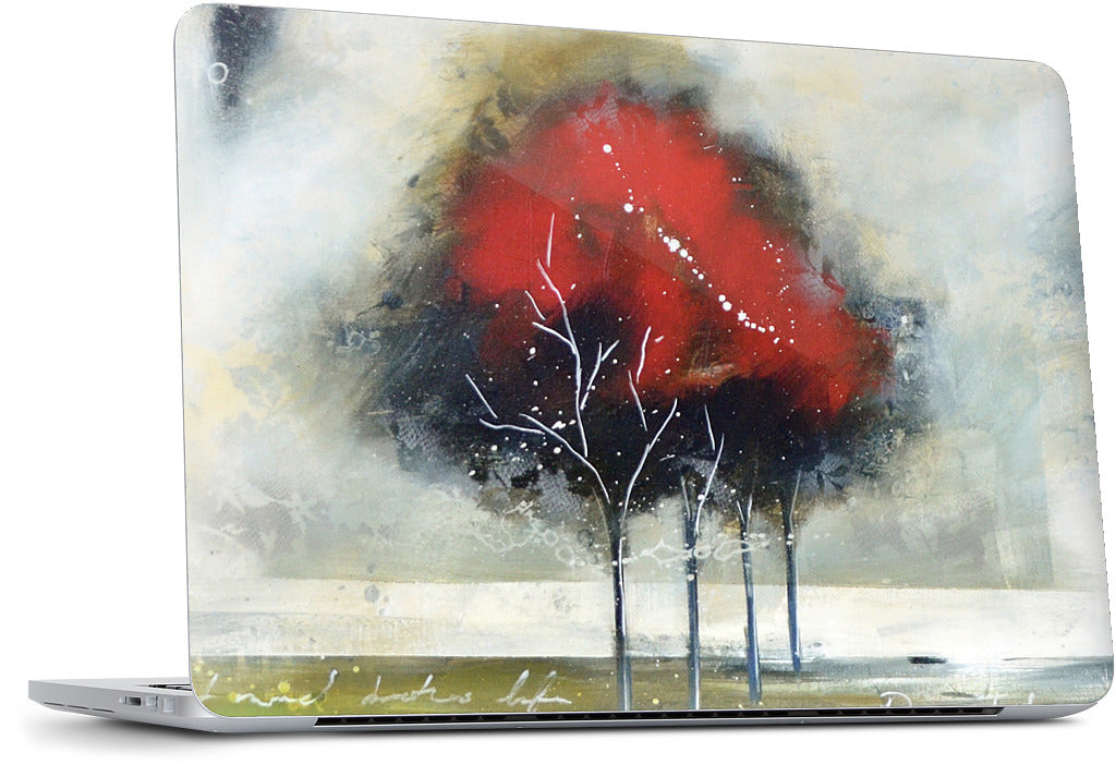 Red Tree MacBook Skin
