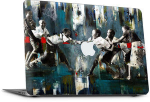 The Tug of War MacBook Skin