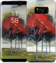 Load image into Gallery viewer, Red Tree Samsung Case