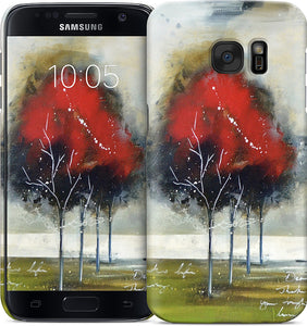 Red Tree Samsung Case