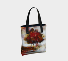 Load image into Gallery viewer, HH Red Tree Line Tote
