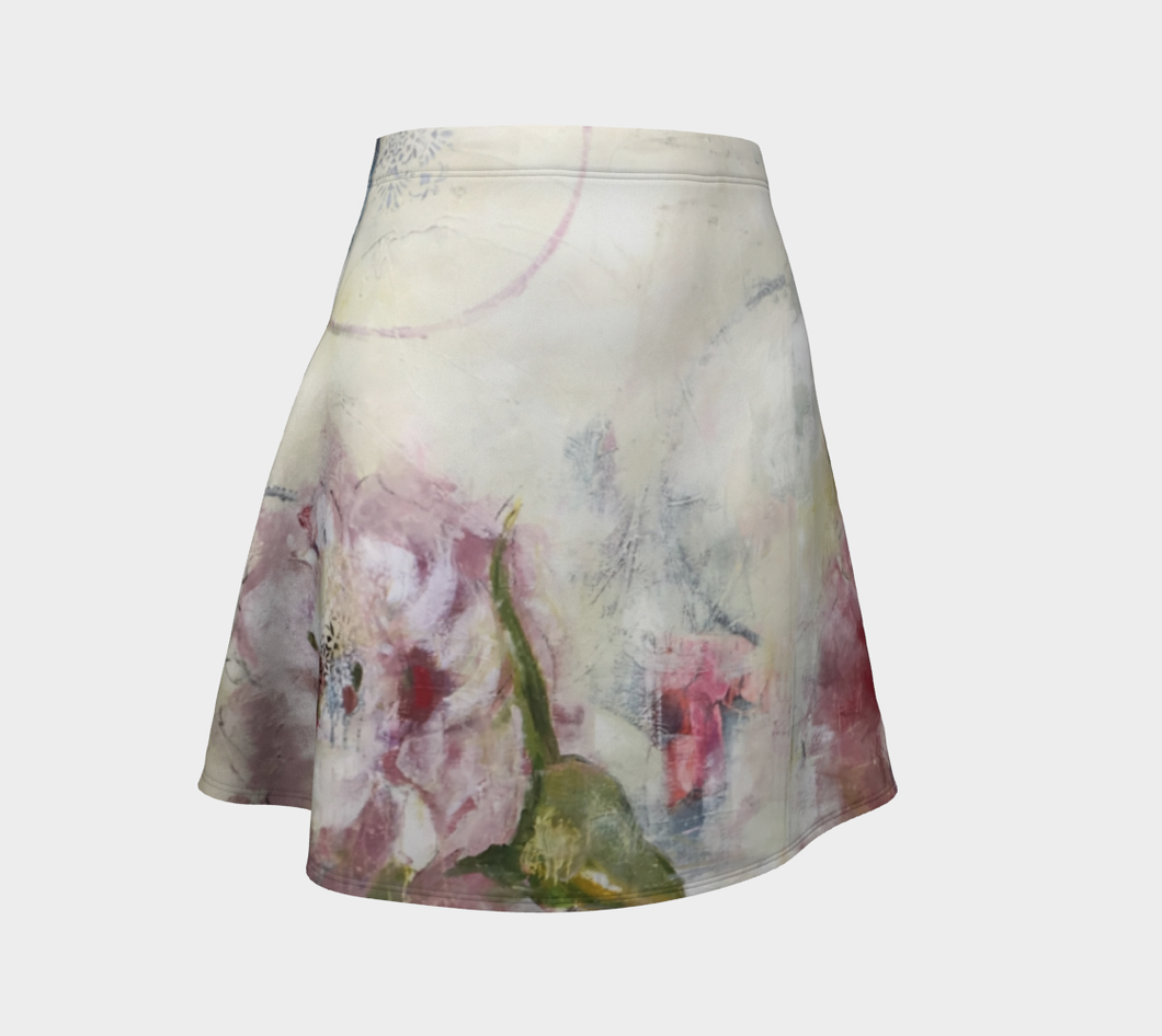 She Stands Strong Flare Skirt
