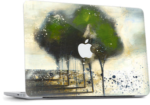 Green Tree MacBook Skin