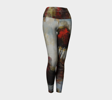 Load image into Gallery viewer, Red Tree Line Yoga Pants
