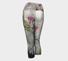 Load image into Gallery viewer, She Stands Strong Yoga Capris