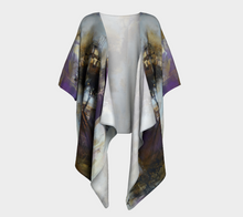 Load image into Gallery viewer, Purple Trees Draped Kimono