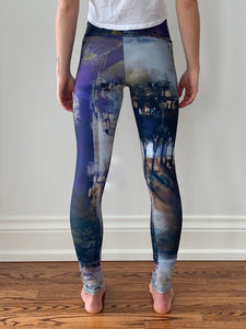 Purple Haze Yoga Pants
