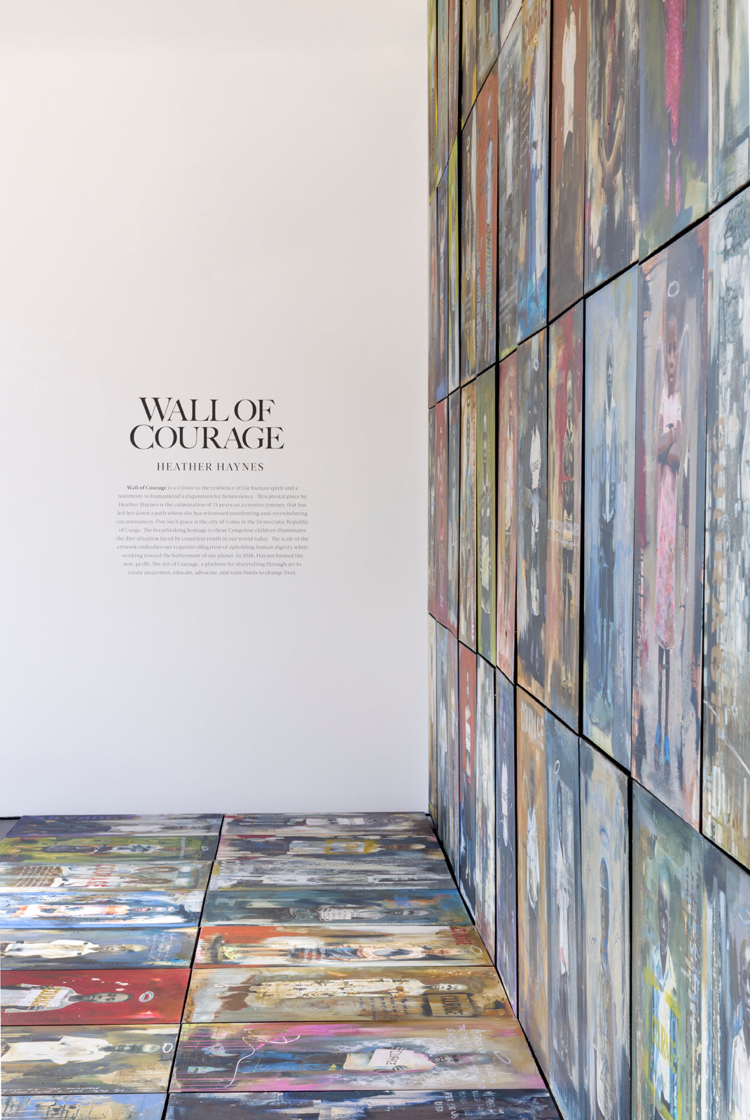 Wall of Courage: Astride