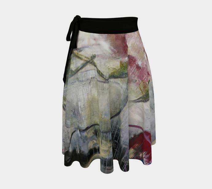 She Stands Strong Wrap Skirt