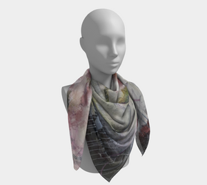 She Stands Strong Square Scarf