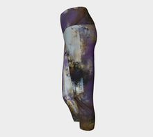 Load image into Gallery viewer, Purple Haze Yoga Capris