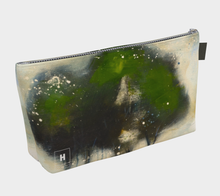 Load image into Gallery viewer, HH Green Tree Line Makeup Bag