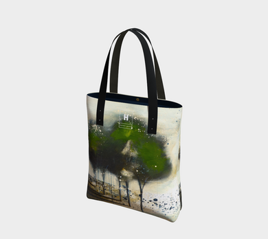 HH Green Tree Line Tote