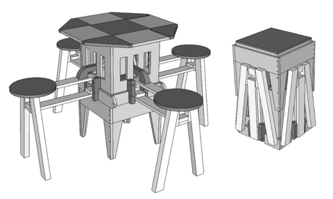 Eizzy Folding Table