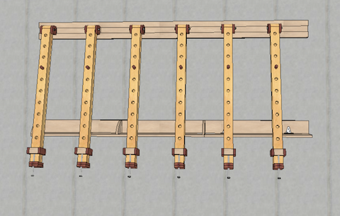 Wall Mount Clamping Station Plans