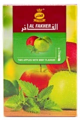 Alfakher アルファーヘル two apples with mint