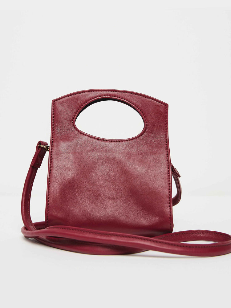 Mini Party Crossbody- Berry