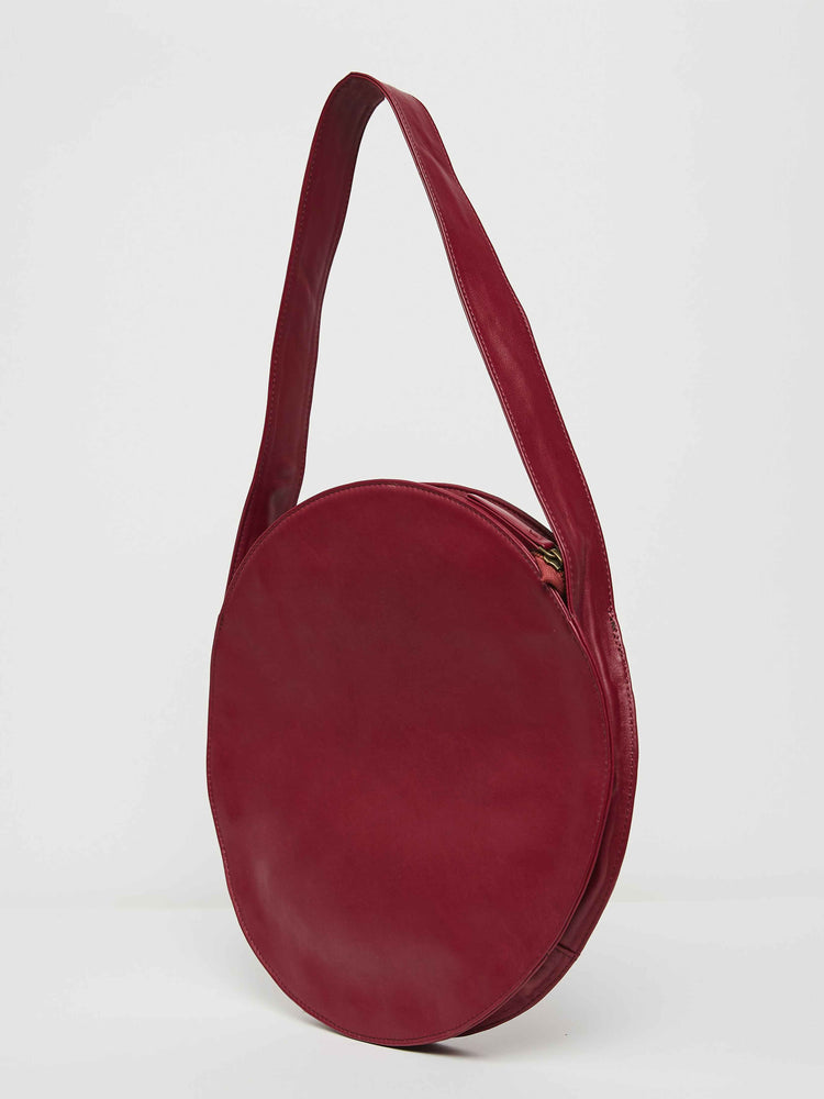 Circle Tote- Berry