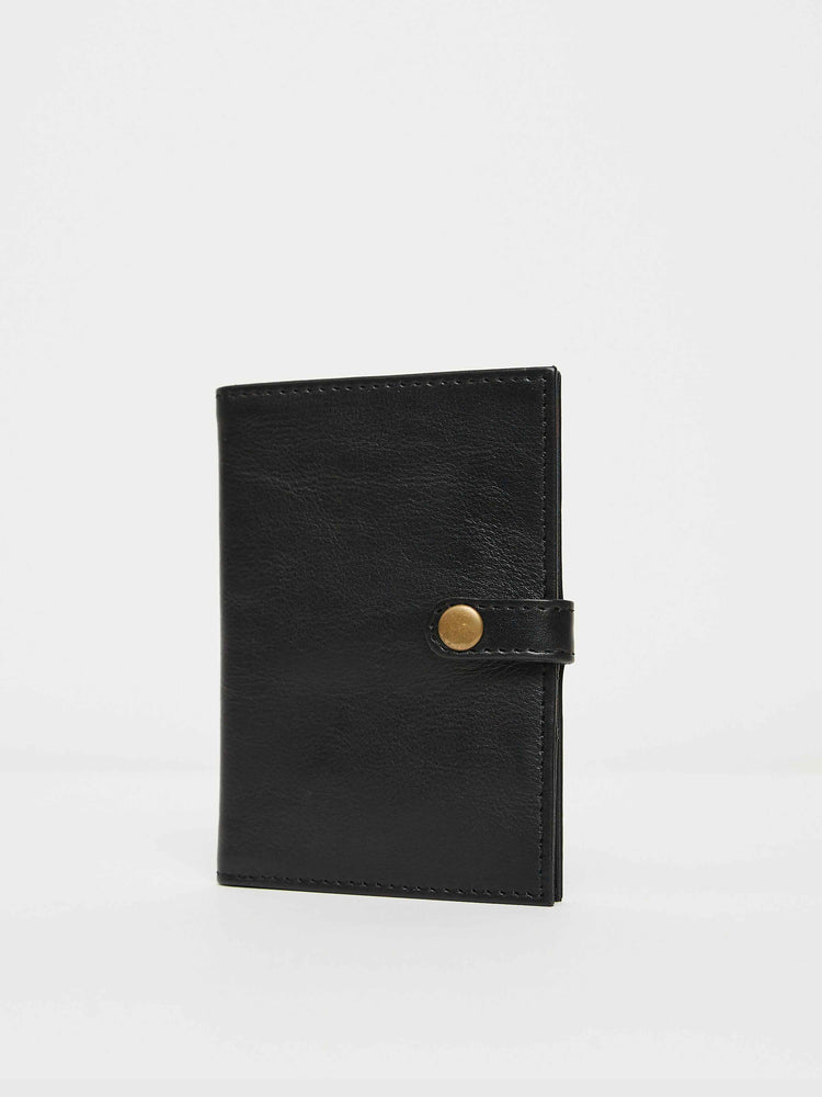 Passport Wallet- Black