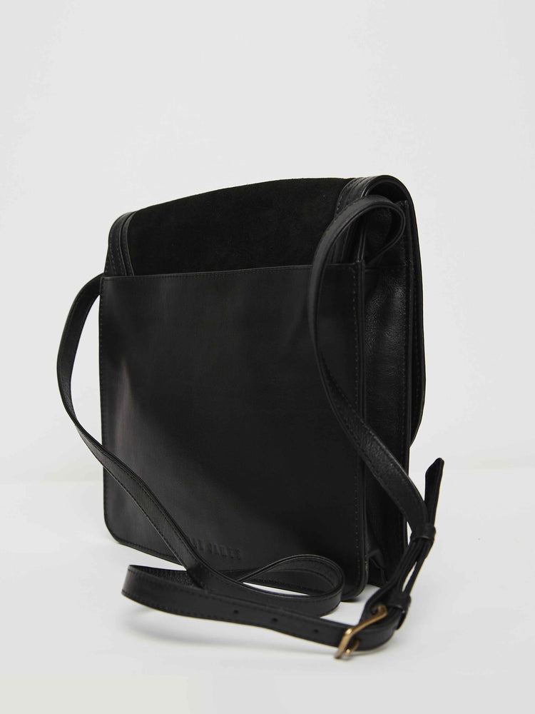 Western Saddlebag- Black