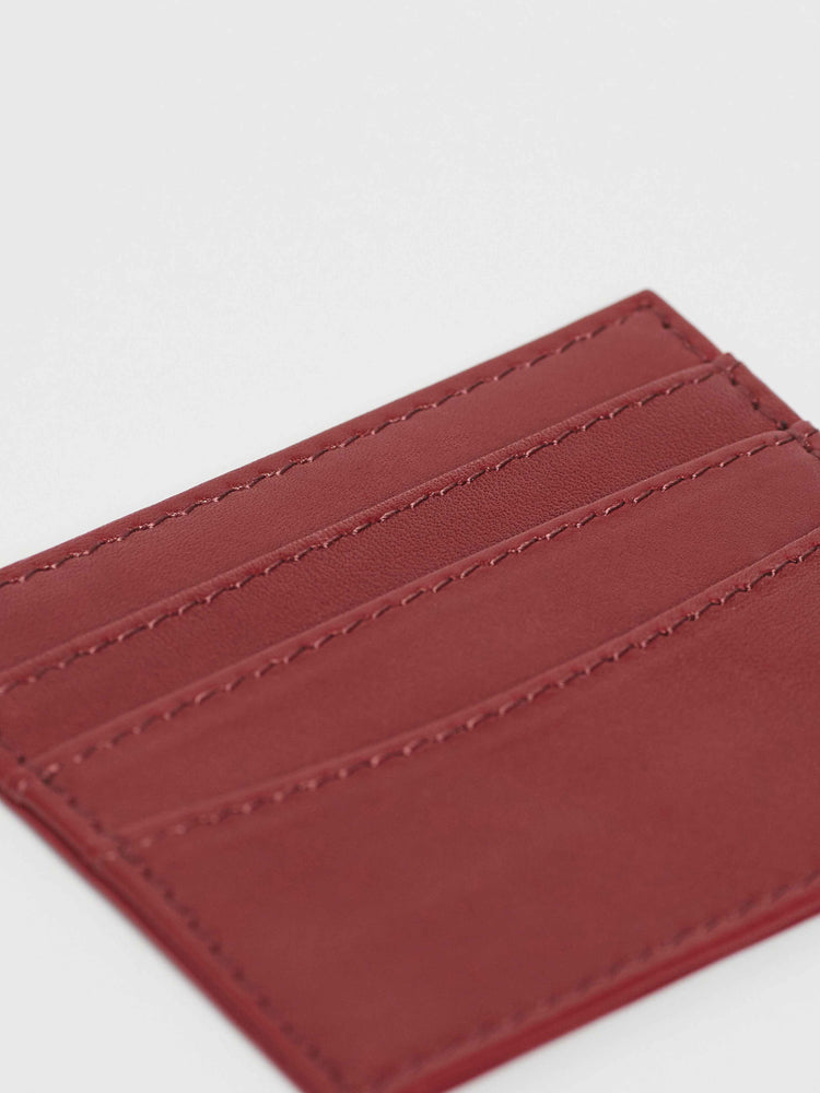 Card Case Holder- Cabernet