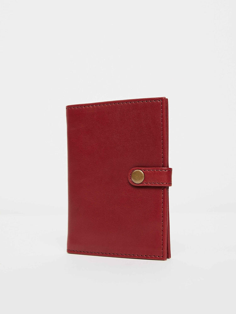 Passport Wallet- Cabernet