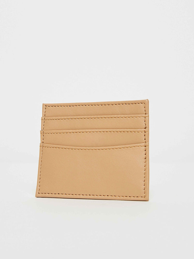 Card Case Holder- Cappuccino