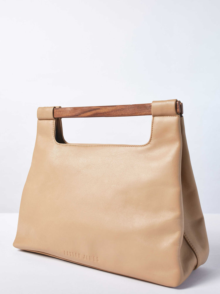 Wood Cut Out Tote