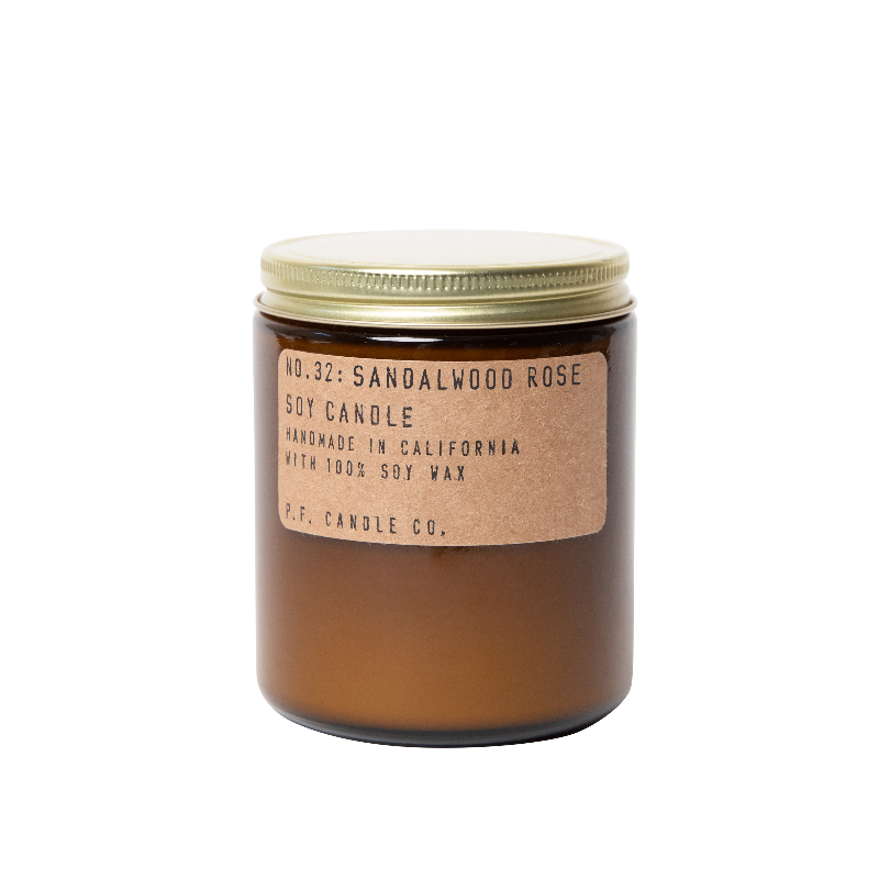 Sandalwood Rose - 7.2 oz Soy Candle