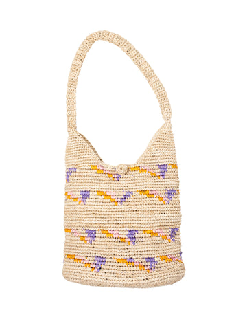 Straw Hobo Bag by Payton James Nashville Handbag designer