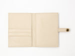 Leather Travel wallet -white Passport wallets by payton james- leather bags nashville