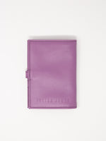 Leather Travel wallet -Lavender Passport wallets by payton james- leather bags nashville
