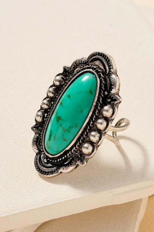 Women's Stone Ring Jewelry Scout and Poppy Fashion Boutique