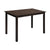 Nilkamal Alexios 4 Seater Dining Table (Wenge)