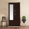 Nilkamal Amanda 2 Door Mirror Wardrobe (Beige/Brown)