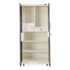 Nilkamal Amore 2 Door Mirror Wardrobe (Beige/Brown)