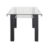 Nilkamal Andrew 6 Seater Dining Table (Black)