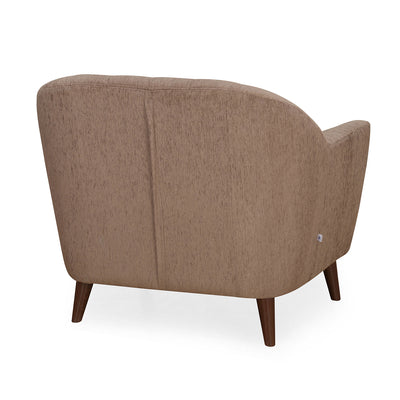 Nilkamal Antalya 1 Seater Sofa (Brown)