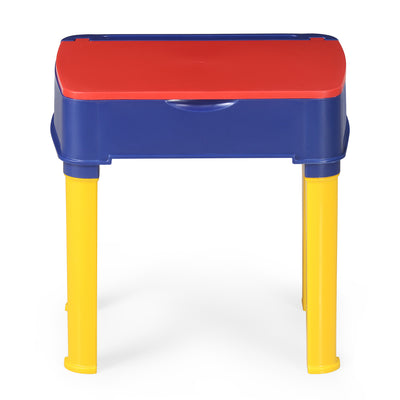 Nilkamal Apple JR Study Desk (Pepsi Blue/Bright Red/Yellow)