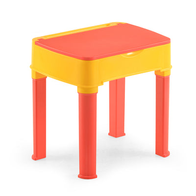 Nilkamal Apple Kids Desk (Strawberry Red/Yellow)