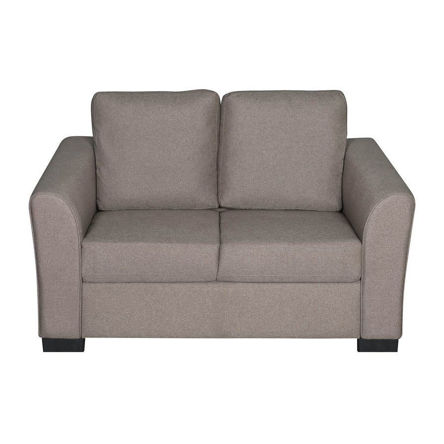 Nilkamal Array 2 Seater Mike Arm Sofa (Light Brown)